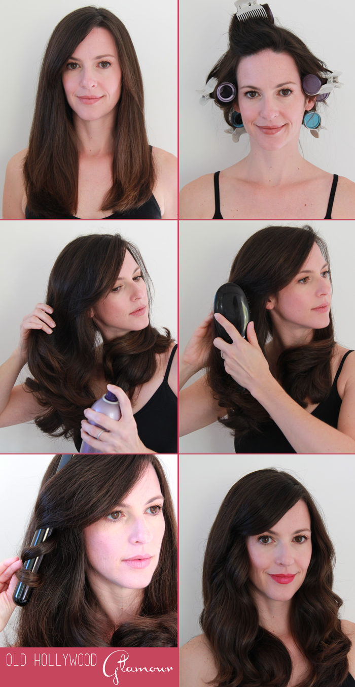 Old Hollywood Hair Tutorial