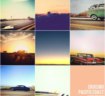 cruising pacific coast highway