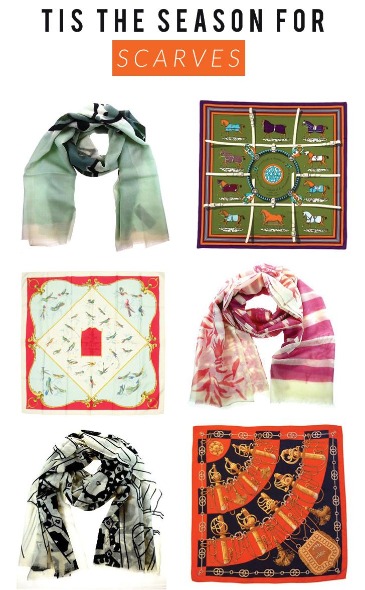 big scarves