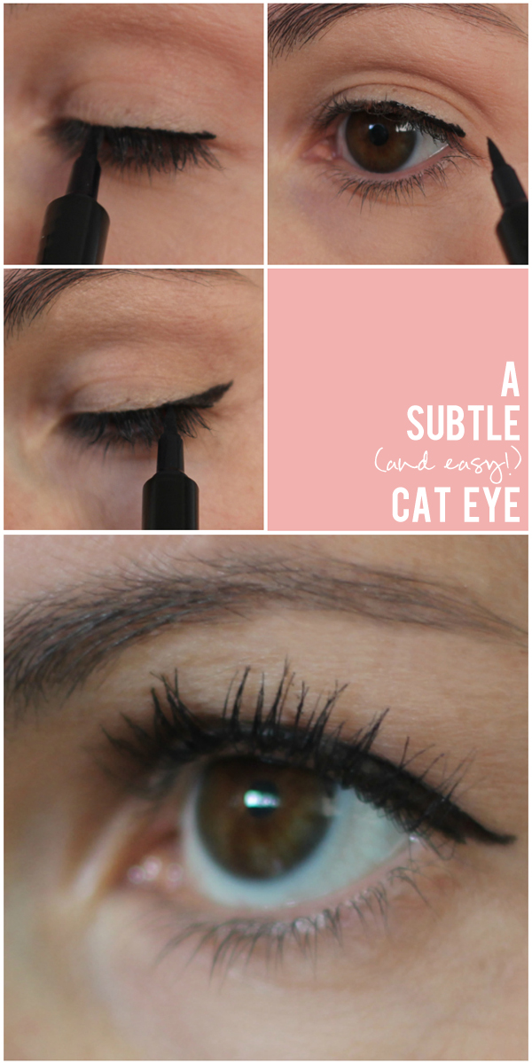 subtle cat eye