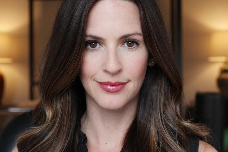 Beautycounter Lip Sheer in Plum review