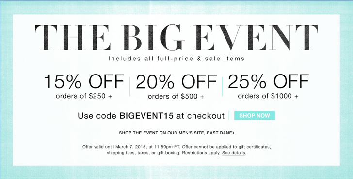 shopbop big event