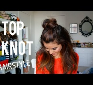 Let's Chat About Half Top Knots