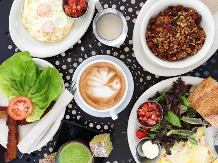 Urth Caffe Food