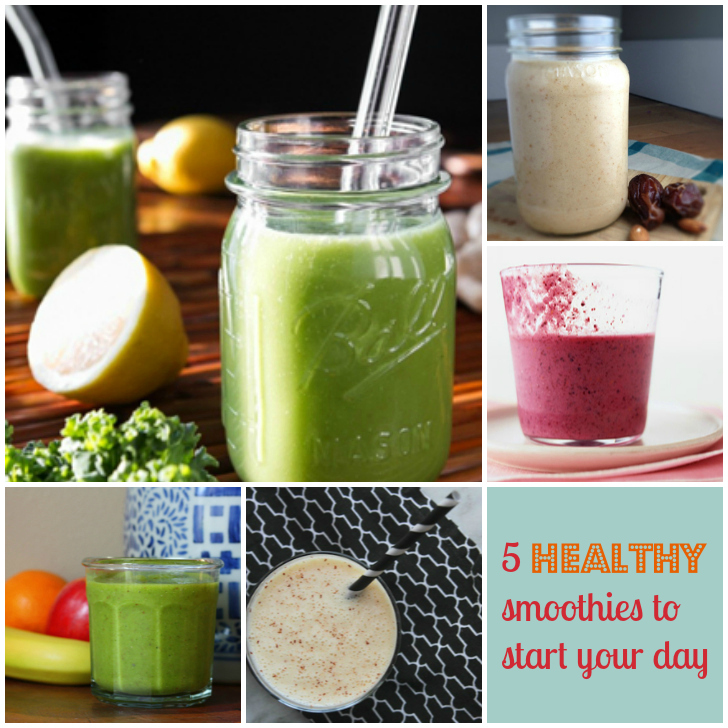 5 healthy smoothies to start the day