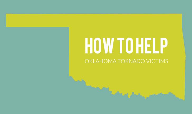 how to help oklahoma tornado victims