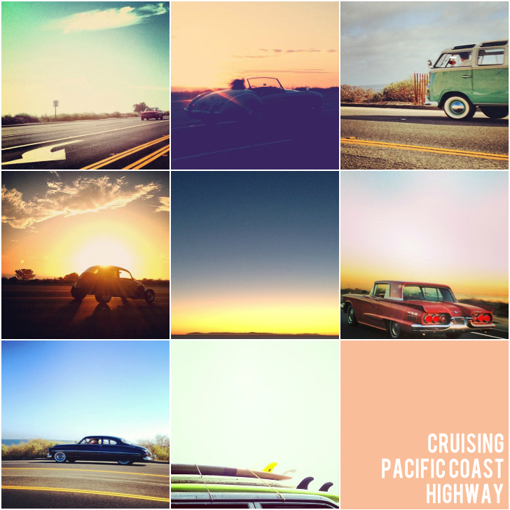 cruising pacific coast highway