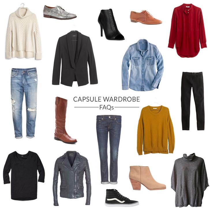 capsule wardrobe faqs