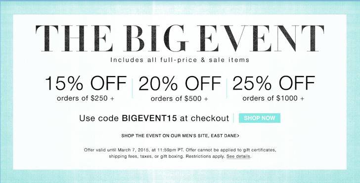 shopbop big event