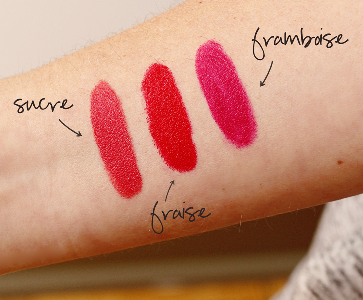 bite beauty matte creme crayon swatches