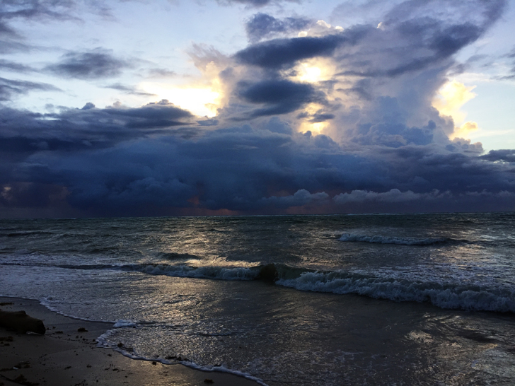 beachrain