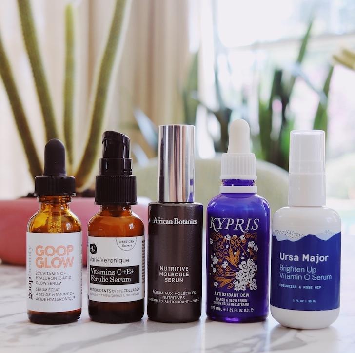 vitamin c serum reviews clean beauty